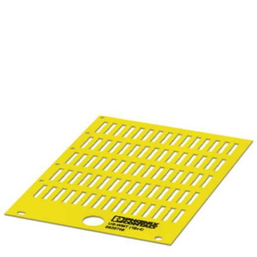 US-WMT (18X4) YE - Kabelmarkeerder Aantal markeringen: 700 US-WMT (18X4) YE Phoenix Contact Inhoud: 10 stuks