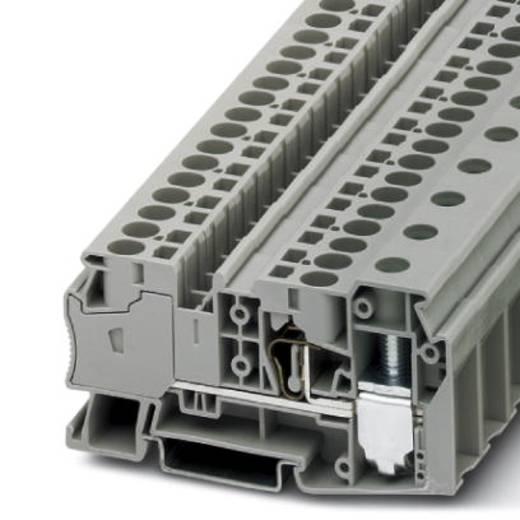 Phoenix Contact STU 35/ 4X10 STU 35/ 4X10 - doorgangsserieklem Grijs Inhoud: 25 stuks
