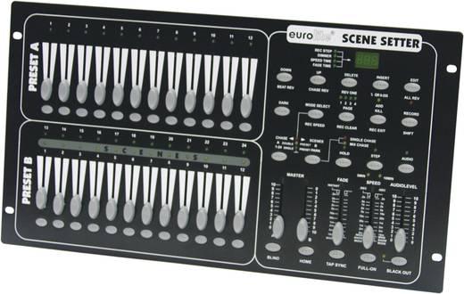 Eurolite Scene Setter DMX controller 24-kanaals 19 inch bouwvorm, Sound-to-light