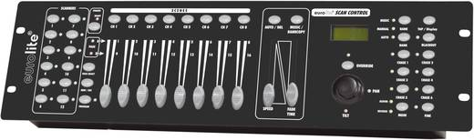 Eurolite DMX SCAN CONTROL DMX controller 16-kanaals 19 inch bouwvorm, Sound-to-light