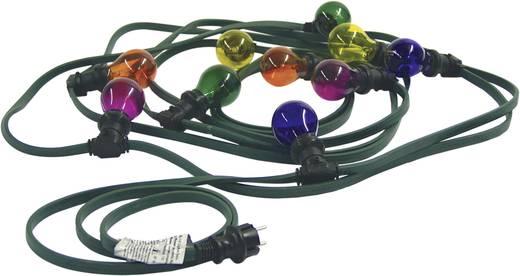 Motief lichtketting Bollen Buiten werkt op het lichtnet