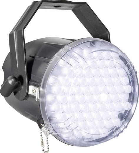 LED-stroboscoop Aantal LED's: 62 LED Techno Strobe 250 EC Wit