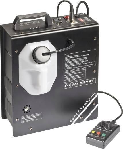 Mc Crypt DB-S8 Rookmachine Incl. kabelgeboden afstandsbediening