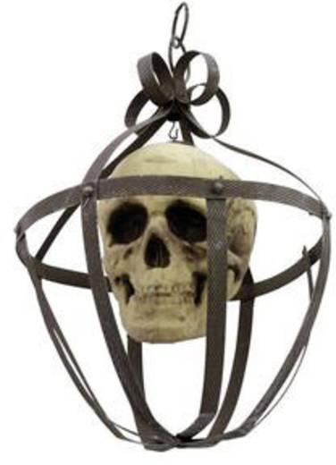 Halloween schedel lantaarn
