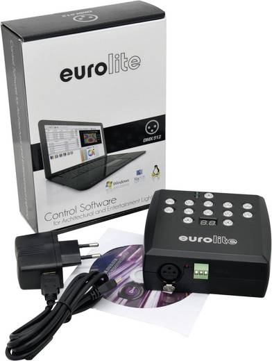 Eurolite SAP-512 DMX software