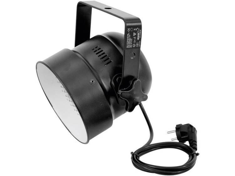 LED PAR-schijnwerper Eurolite LED PAR-56 Kurz Aantal LEDs: 151 x Zwart