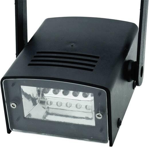 LED-stroboscoop Aantal LED's: 5 Eurolite LED Disco Strobe Wit