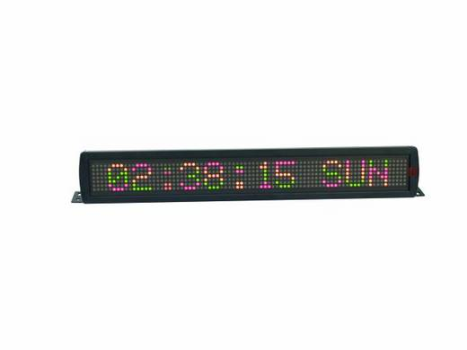 LED-lichtkrant Rood, Groen, Geel (b x h x d) 810 x 160 x 110 mm Eurolite ESN 7x80 5mm