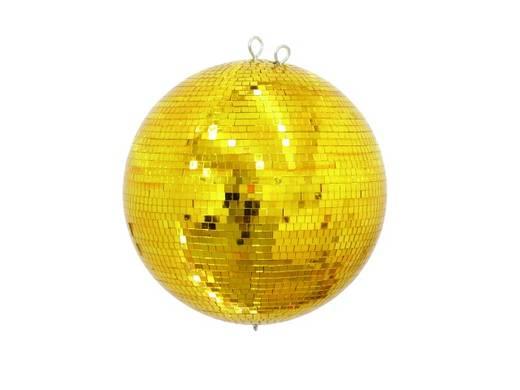 Eurolite 50120037 Spiegelbol met gouden oppervlak 40 cm