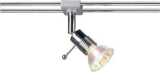 12V-railsysteem lamp Wave GU5.3 50 W Halogeen SLV Syros 138842 Chroom