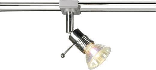12V-railsysteem lamp Wave GU5.3 50 W Halogeen SLV Wave Syros 138842 Chroom