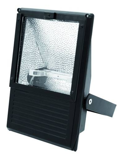 Outdoor floodlight Eurolite 100-500 W WFL zwart