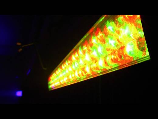 LED-bar Eurolite LED Bar 126 RGB 40° Aantal LED's: 126 x
