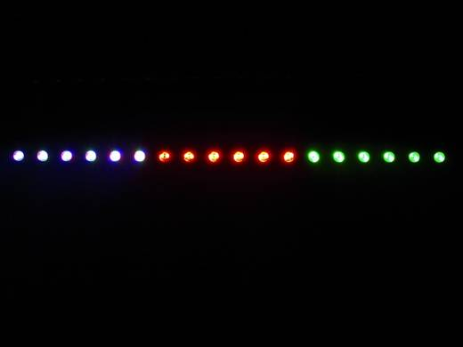 Eurolite LED Bar 18 LED-bar Aantal LED's: 18 x 3 W