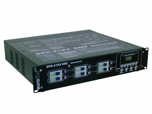 Eurolite DPX-610 DMX dimmer 6-kanaals 19 inch bouwvorm