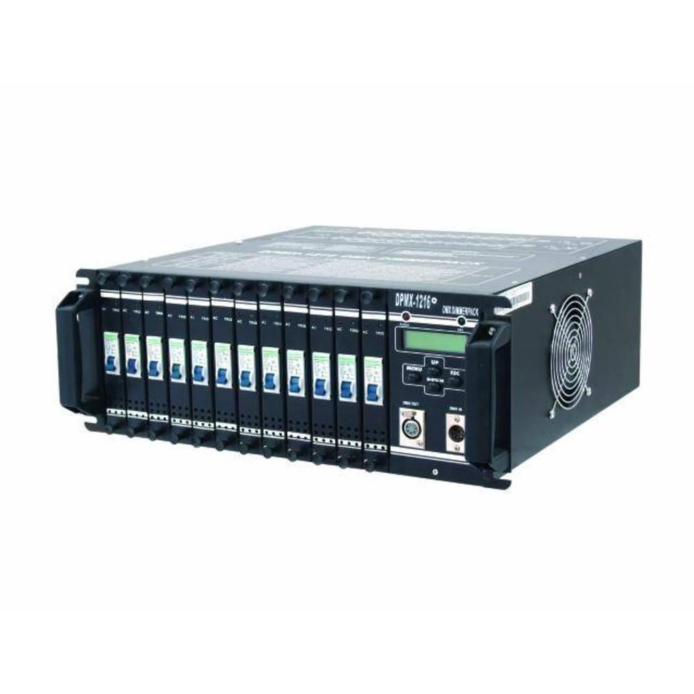 Eurolite DPMX-1216 DMX Dimmer 12 kanaler 19-konstruktion