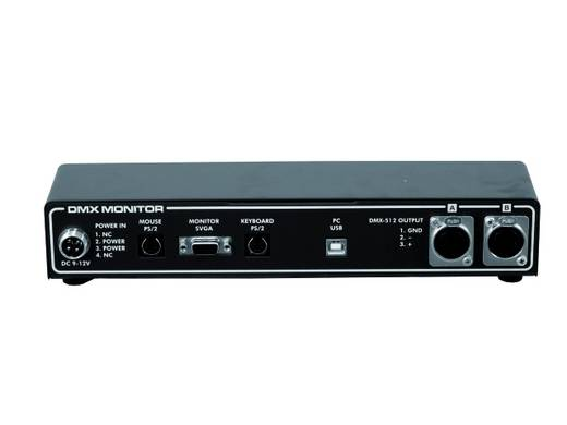 FutureLight DMD-512 DMX monitordriver