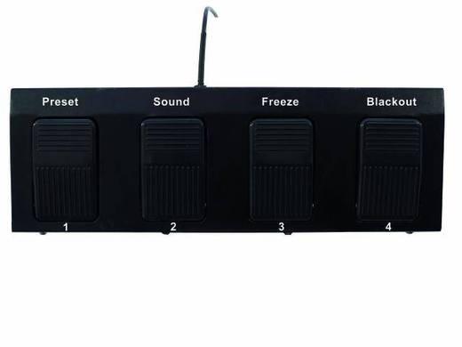 Eurolite FP-1 DMX controller 4-kanaals Voetbesturing