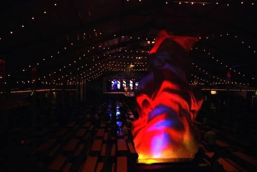 Halogeen Party-lichteffect Eurolite FL-1200 Flamelight