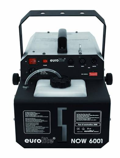 Sneeuwmachine Eurolite sneeuw 6001 Incl. bevestigingsbeugel, Incl. kabelgeboden afstandsbediening