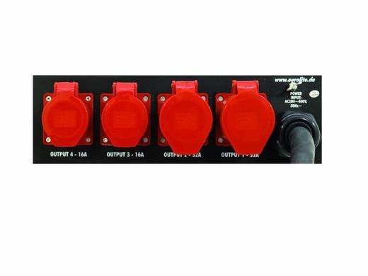"Eurolite SB-1200 19"" stroomverdeler 4-voudig 3 HE"
