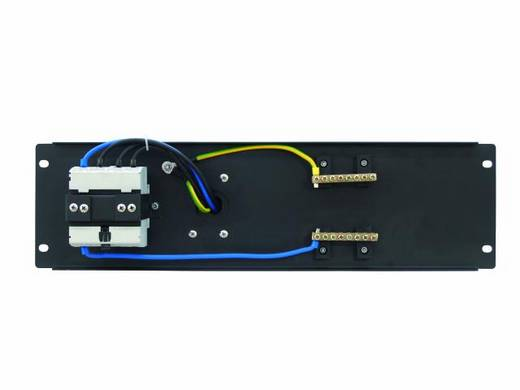 "Eurolite PDM 3U-32A / 5 pins RCD 19"" stroomverdeler 1-voudig 3 HE"