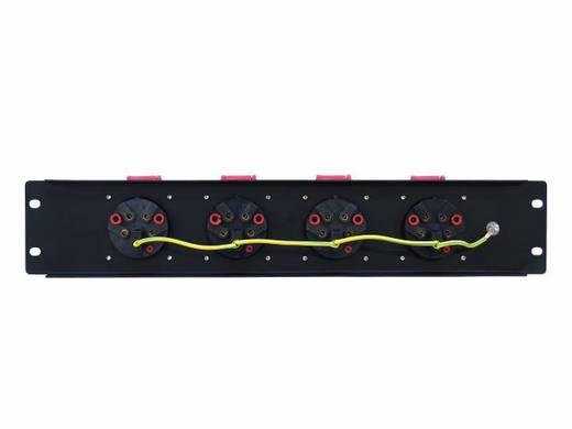"Eurolite PDM 3U 4CEE 16A / 5 pins 19"" stroomverdeler 4-voudig 3 HE"