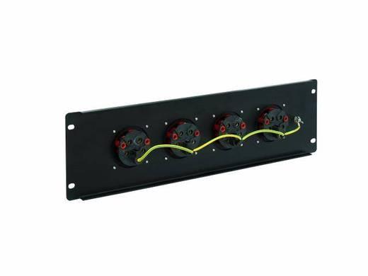 "Eurolite PDM 3U 4CEE 32A / 5 pins 19"" stroomverdeler 4-voudig 3 HE"