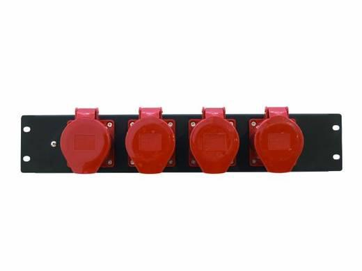 """Eurolite PDM 3U-4CEE 32A/5-polig 19"""" stroomverdeler 4-voudig 3 HE"""