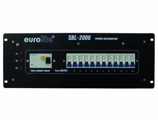 "Eurolite SBL-2000 19"" stroomverdeler 12-voudig 4 HE"
