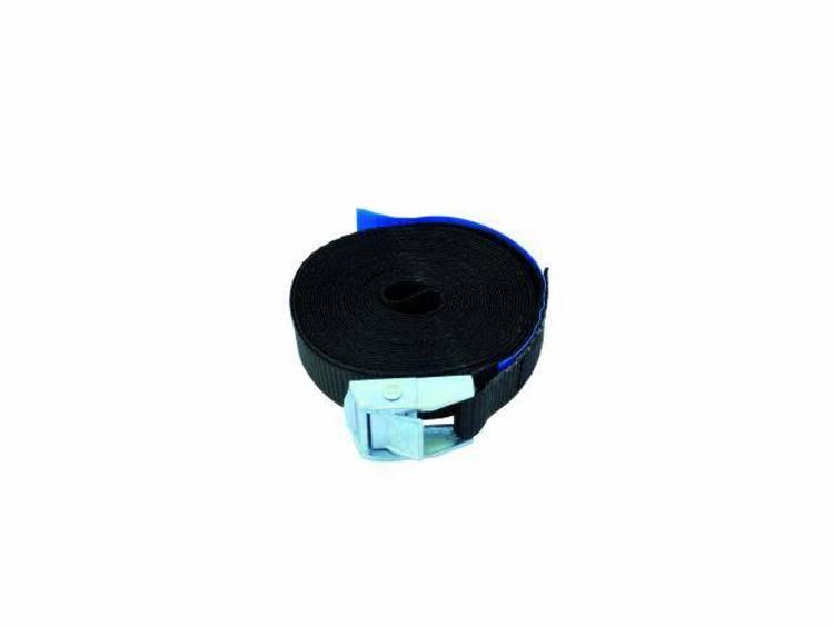 Spanband S200 met slot 5 m-25 mm zwart
