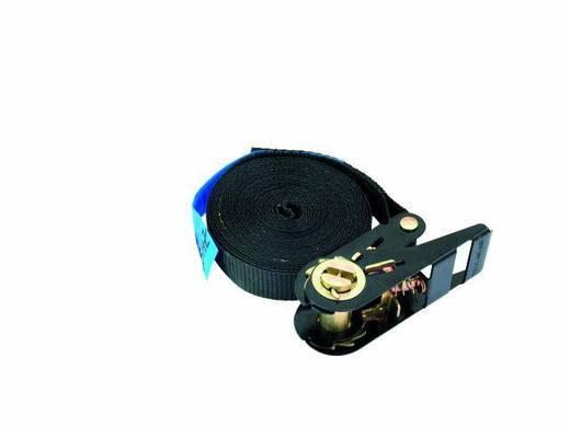SpanngurtS400 zwart met ratel 5m / 25mm