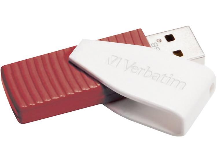 Verbatim Swivel USB-stick 16 GB Rood 49814 USB 2.0