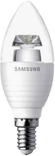 LED (één kleur)-lamp E14 Kaars 5 W = 25 W Warmwit (Ø x h) 38 mm x 109 mm Energielabel: A Samsung Dimbaar 1 stuks