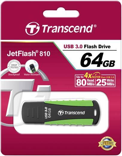 Transcend JetFlash® 810 64 GB USB-stick Groen USB 3.0