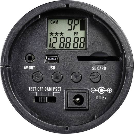 596113 Gecamoufleerde bewakingscamera in PIR-behuizing 32 GB met bewegingsmelder 640 x 480 pix