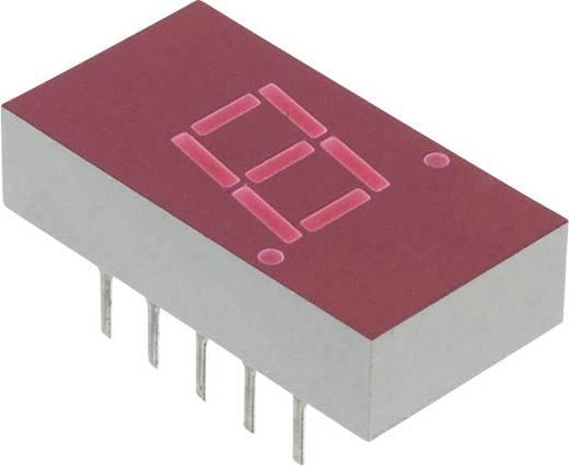 7-segments-display Rood 7.62 mm 2.1 V Aantal cijfers: 1 Broadcom