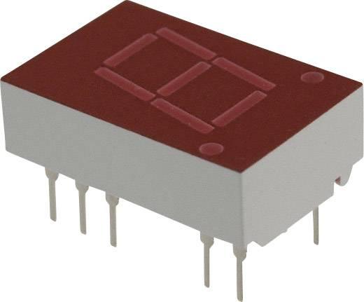 7-segments-display Rood 11 mm 2.1 V Aantal cijfers: 1 Broadcom