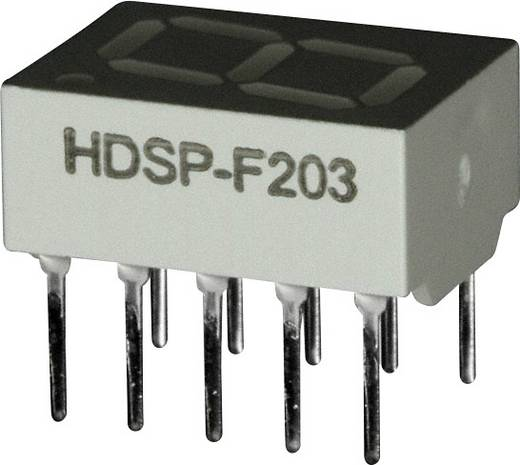 7-segments-display Rood 10.16 mm 2 V Aantal cijfers: 1 Broadcom