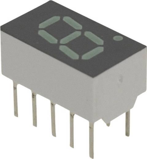 7-segments-display Groen 7.62 mm 2.1 V Aantal cijfers: 1 Broadcom