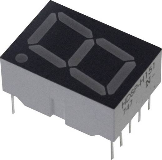 7-segments-display Rood 14.22 mm 1.8 V Aantal cijfers: 1 Broadcom