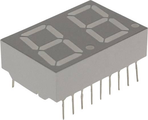 7-segments-display Rood 14.22 mm 2.1 V Aantal cijfers: 2 Broadcom
