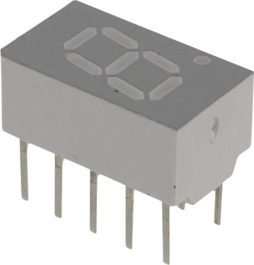 7-segments-display Rood 7.62 mm 1.7 V Aantal cijfers: 1 Broadcom