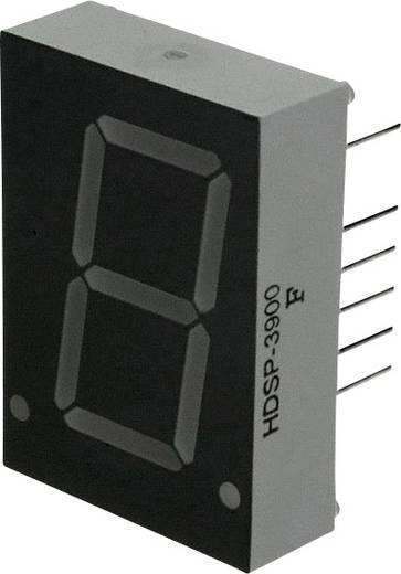 7-segments-display Rood 20.32 mm 2.6 V Aantal cijfers: 1 Broadcom