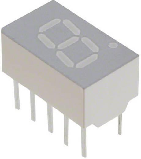 7-segments-display Rood 7.62 mm 1.8 V Aantal cijfers: 1 Broadcom