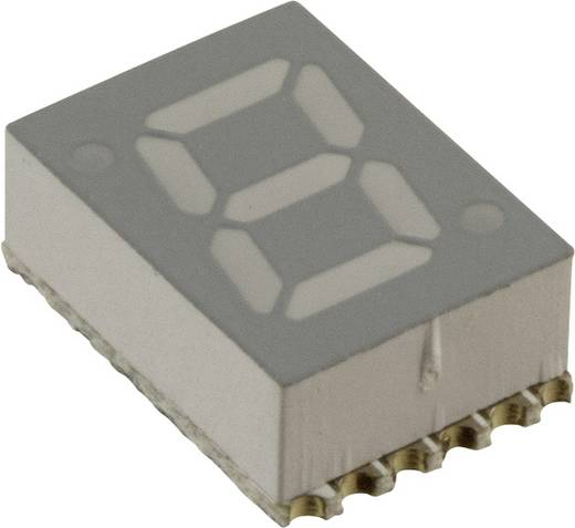 7-segments-display Rood 7.11 mm 2 V Aantal cijfers: 1 Broadcom