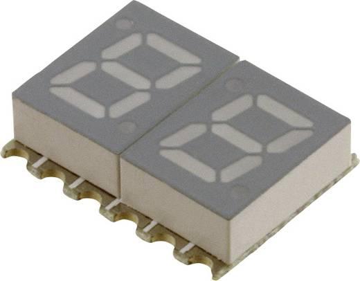 7-segments-display Rood 7.11 mm 2 V Aantal cijfers: 2 Broadcom