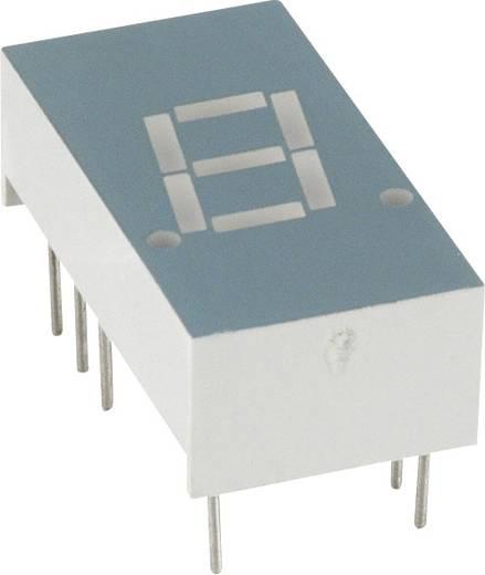 7-segments-display Rood 7.8 mm 2 V Aantal cijfers: 1 LUMEX