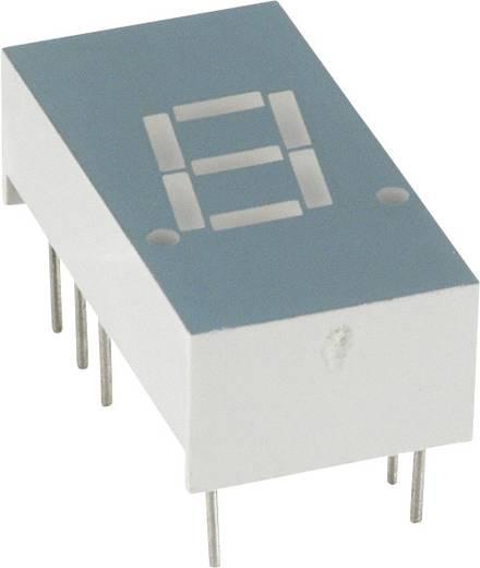 7-segments-display Rood 7.8 mm 1.7 V Aantal cijfers: 1 LUMEX
