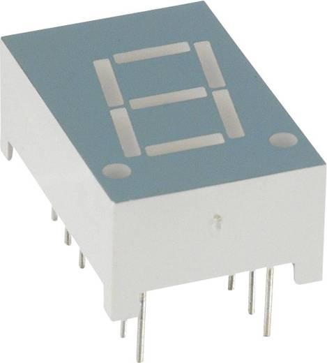 7-segments-display Rood 10.92 mm 2 V Aantal cijfers: 1 LUMEX